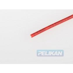 Kabel silikon 1.0mm2 1m (červený)