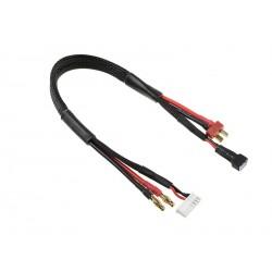 Corally nabíjecí kabel s banánky/6S XH - Deans/2S XH 30cm