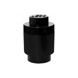 LEGO úložný box kulatý 123x183mm - černý