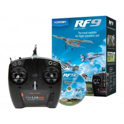 RealFlight 9 simulátor, ovladač Interlink DX