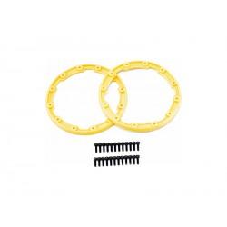 Traxxas pojistný kroužek kola žlutý