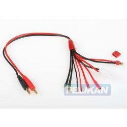 Nabíjecí kabel COMBO (Dean-T, Gold 2, 3.5, 4, Tamiya)