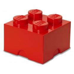 LEGO úložný box 250x250x180mm - červený