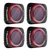 Freewell sada čtyř polarizačních ND filtrů Bright Day pro DJI Mavic Air 2